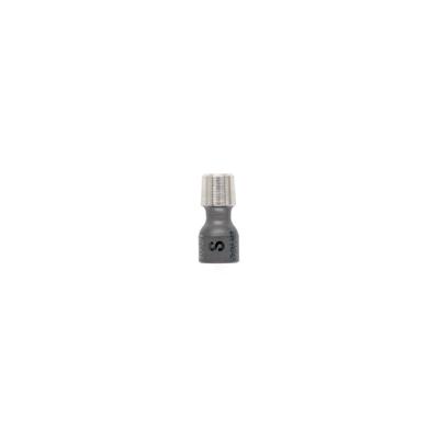 Mini Neck short for 3 mm mini stem, 8 mm ceramic head