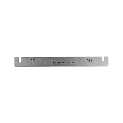 Bending iron 10/11 mm / for 10/11 mm plate