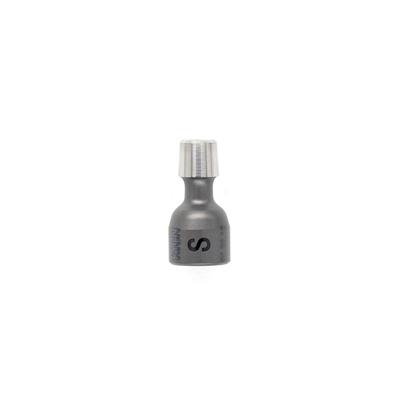 Mini Neck short for 5 mm mini stem, 10 mm ceramic head